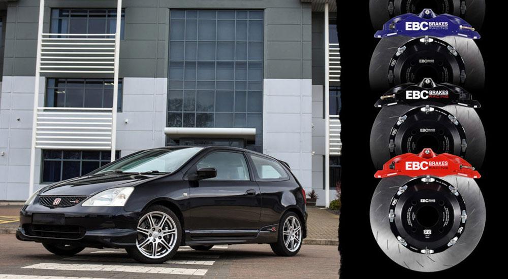 Apollo Balanced Big Brake Kits Now Available for the Honda Civic Type R