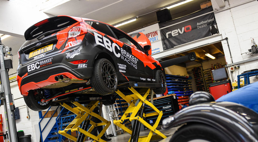 EBC's Ultimate Fiesta Build – Part 9: Geometry/Alignment Setup with Northampton Motorsport