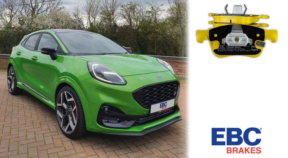 EBC Brakes Launches Yellowstuff High-Performance Brake Pads for Ford Puma ST
