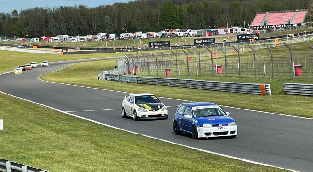 Race Report: RP-X-equipped Golf GTI Wins First Round