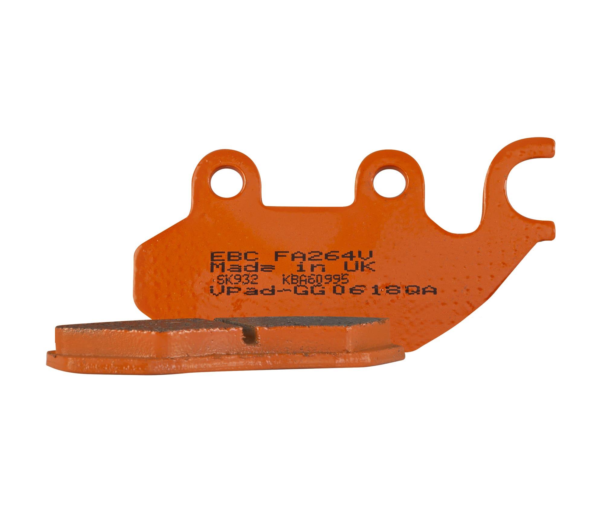 orange brake pad