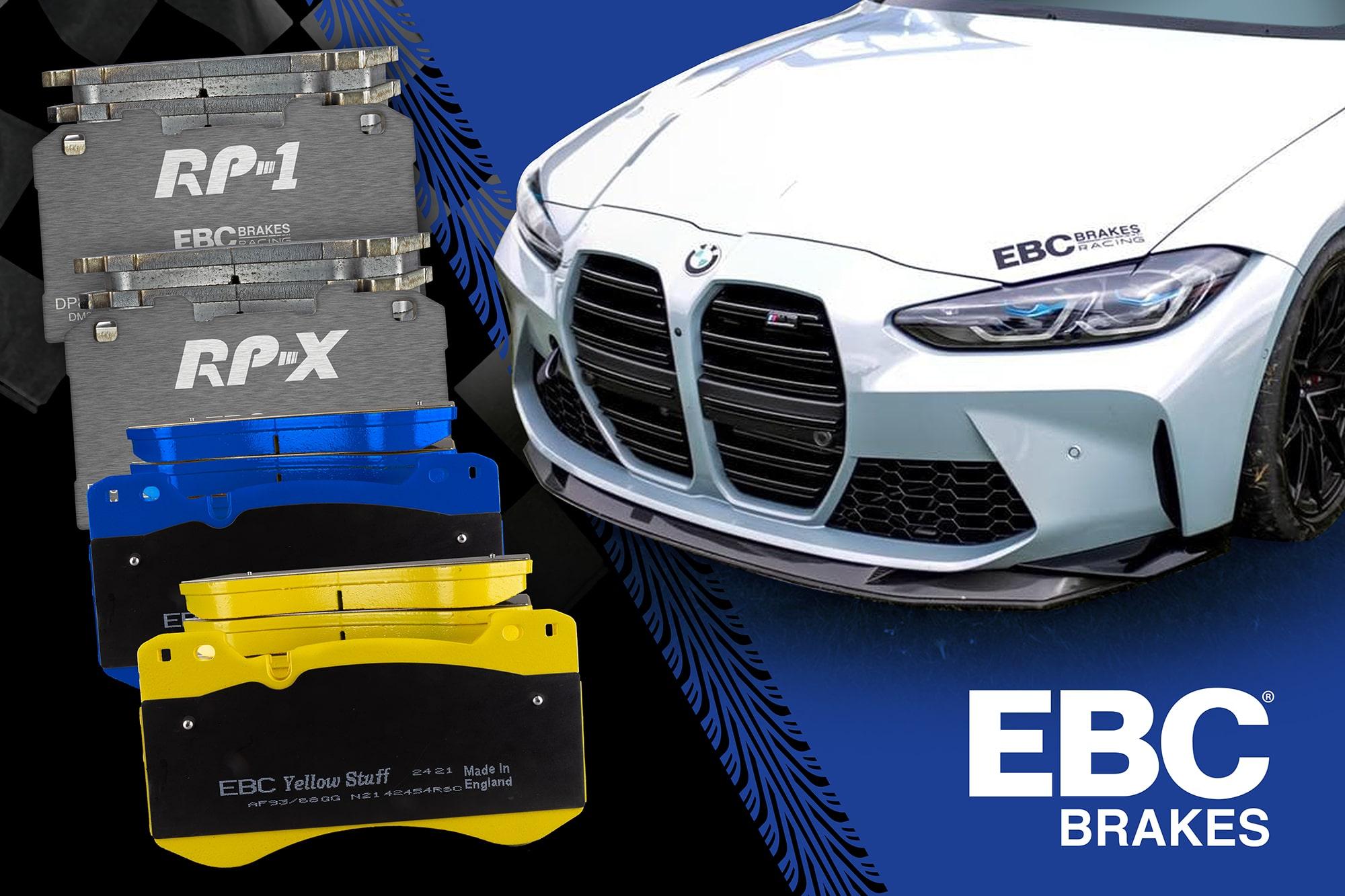 New Range of High-Performance Brake Pads for New BMW M3/M4 Models