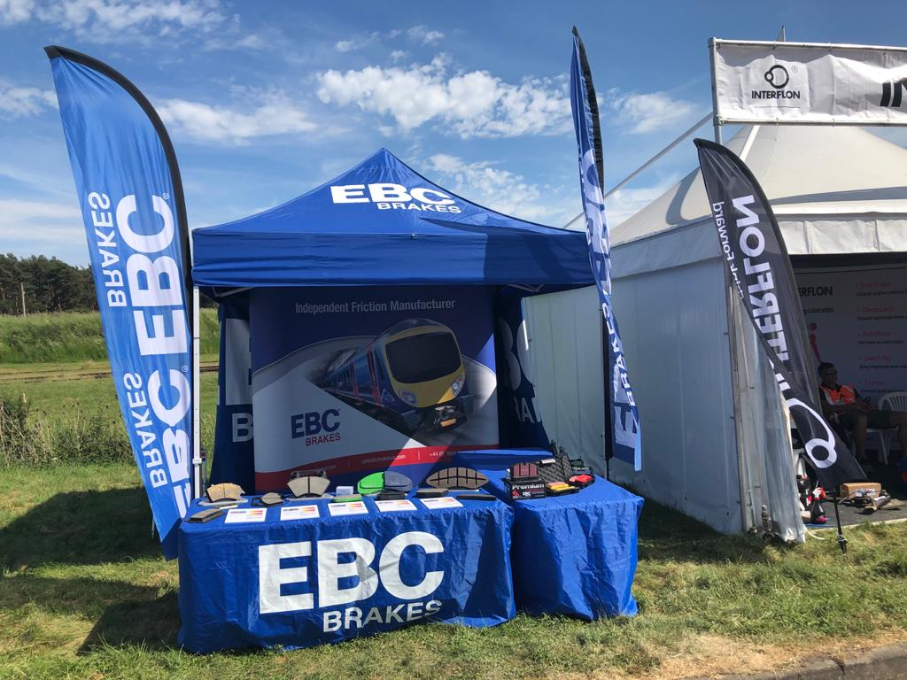 EBC Brakes Attends Rail Live 2021 Event