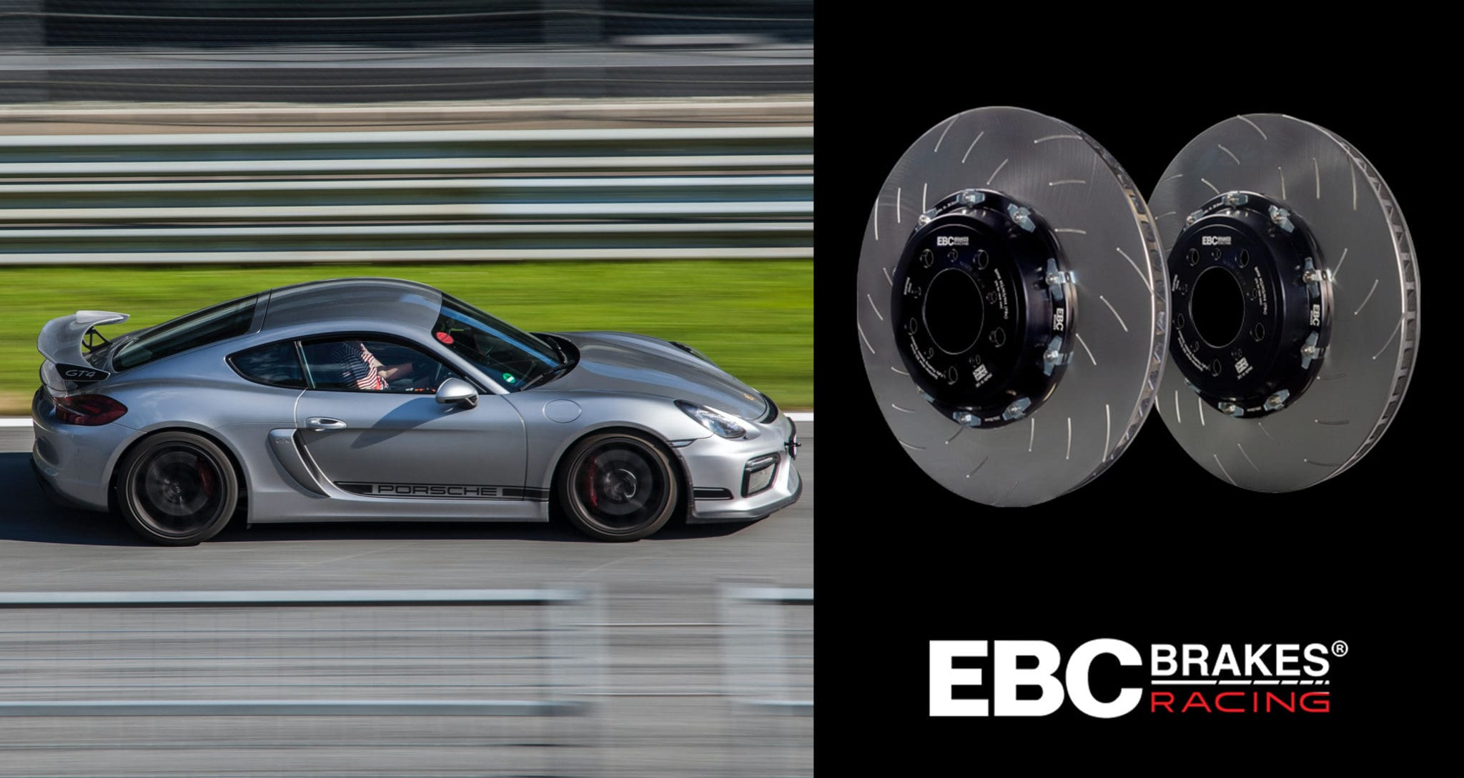 EBC Brakes Racing Introduces Two-Piece Fully-Floating Disc for Porsche 911 Turbo/S (991) and Cayman GT4 (981)