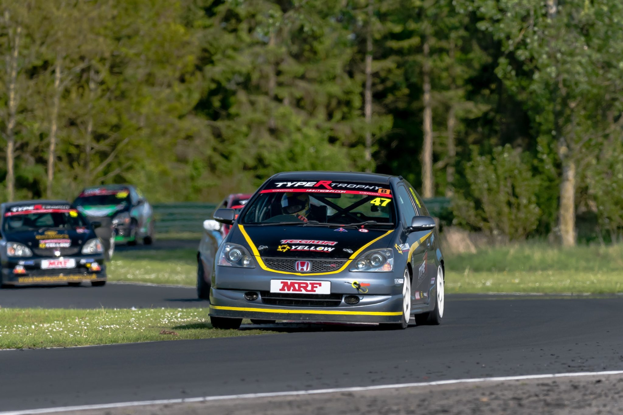 Luke Rosewell Tests RP-1 Pads in Type R Trophy Race