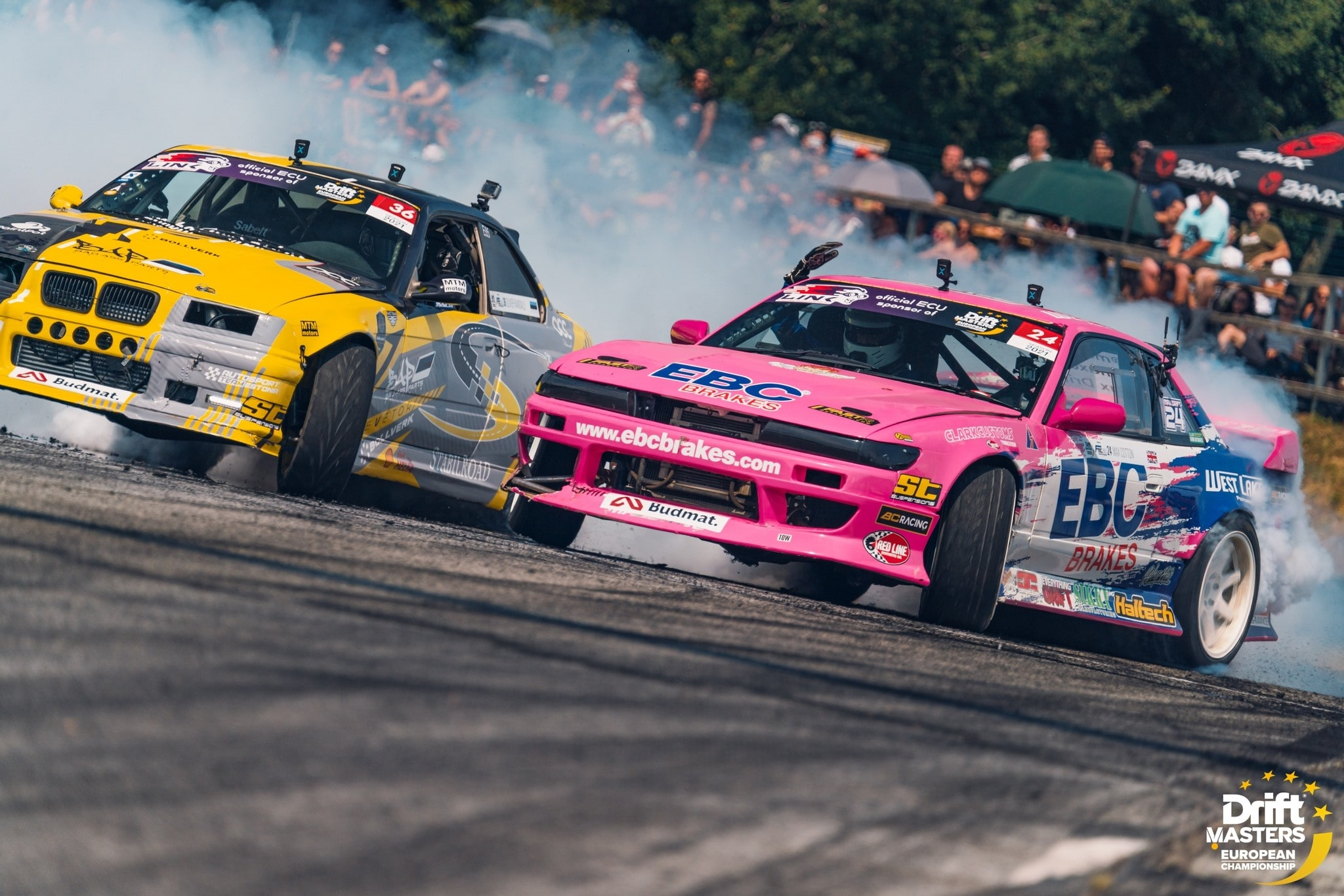 Race Report: Max Cotton Competes in First Round of Drift Masters European Championship