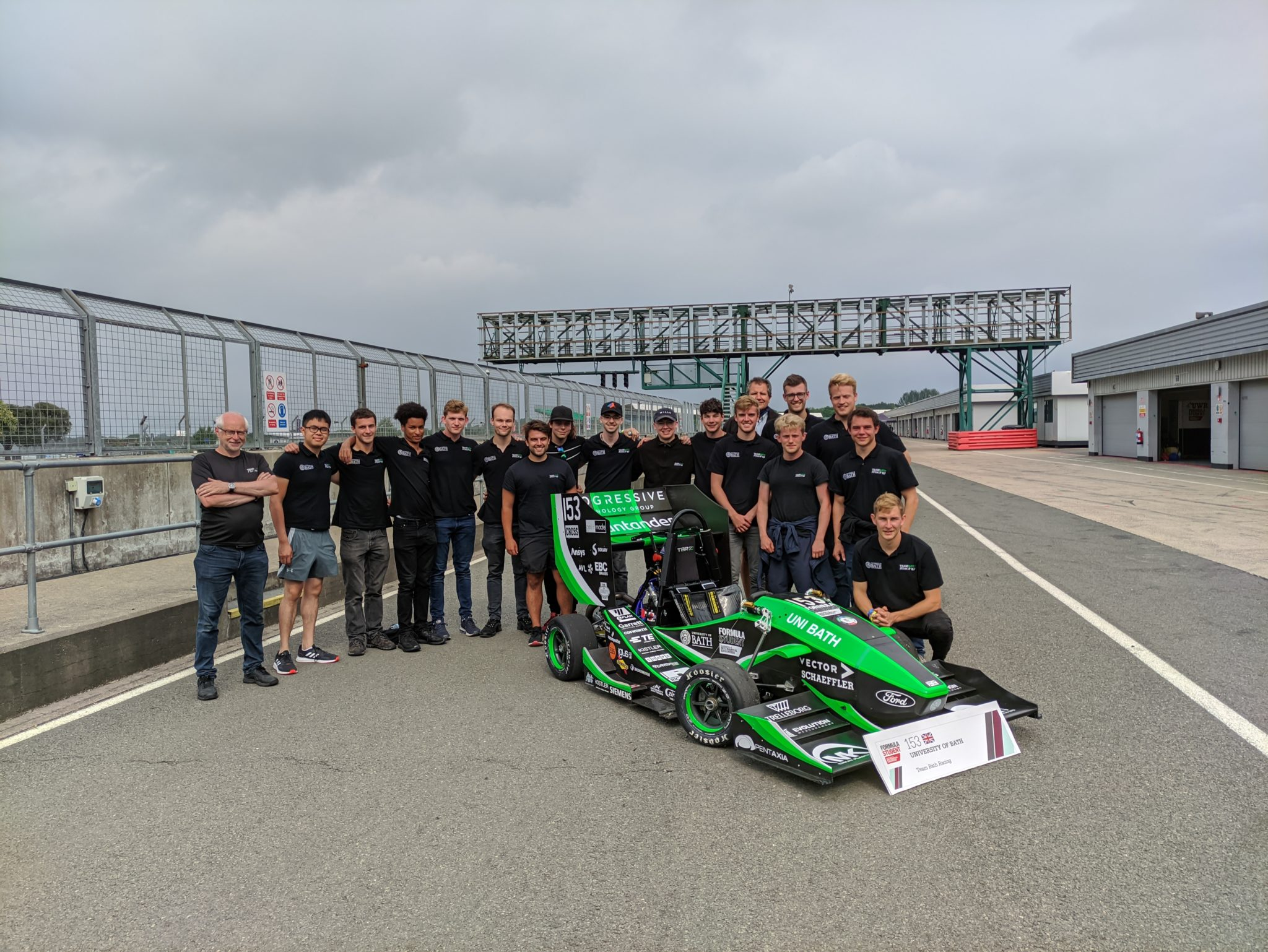 Team Bath Racing Competes in Formula Student UK 2021