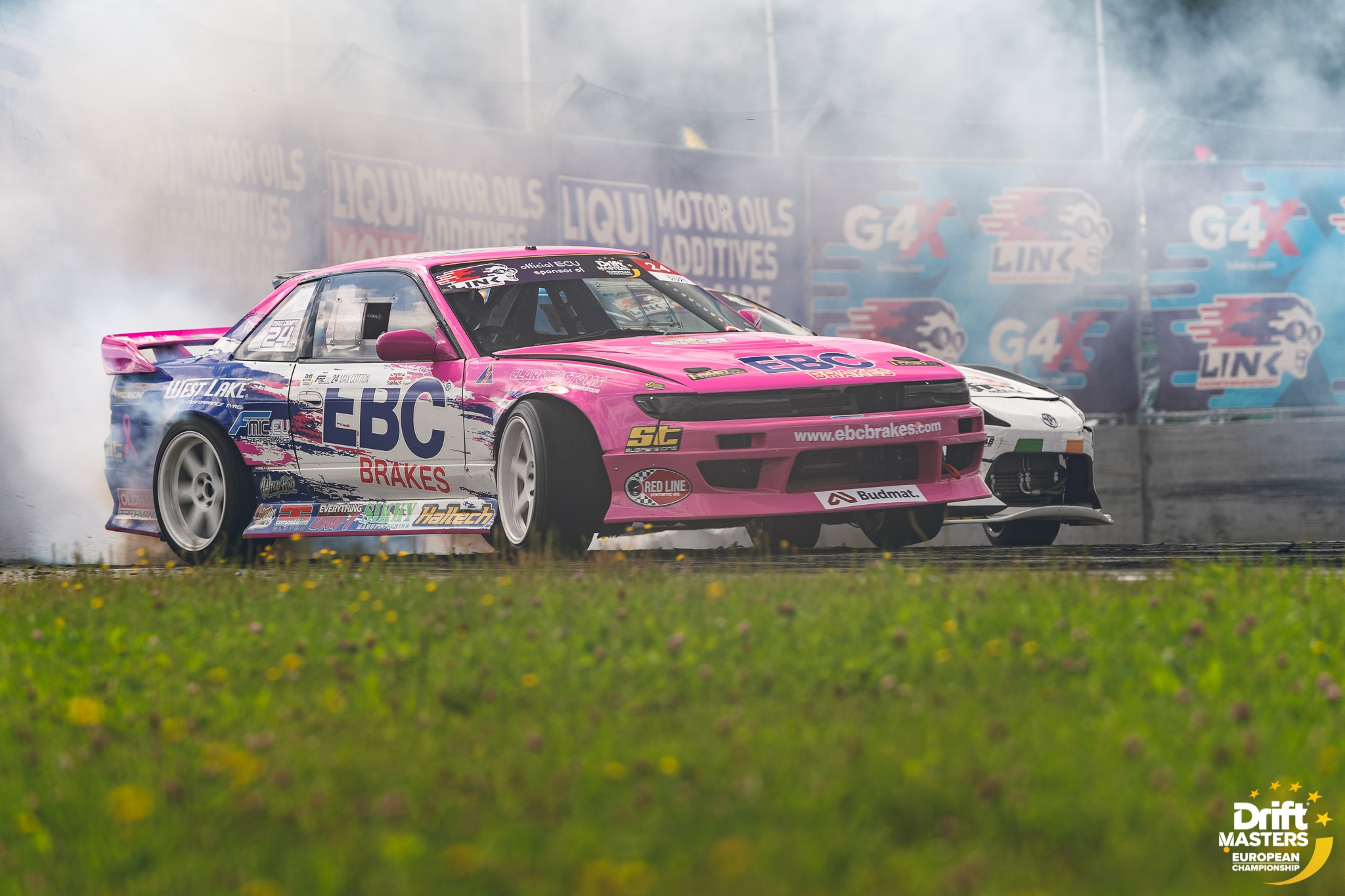 Max Cotton Battles the Best in Final Drift Masters Round in Latvia