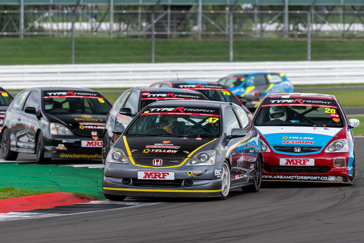 Type R Trophy Racer Clinches Podium Finish at Silverstone International Round