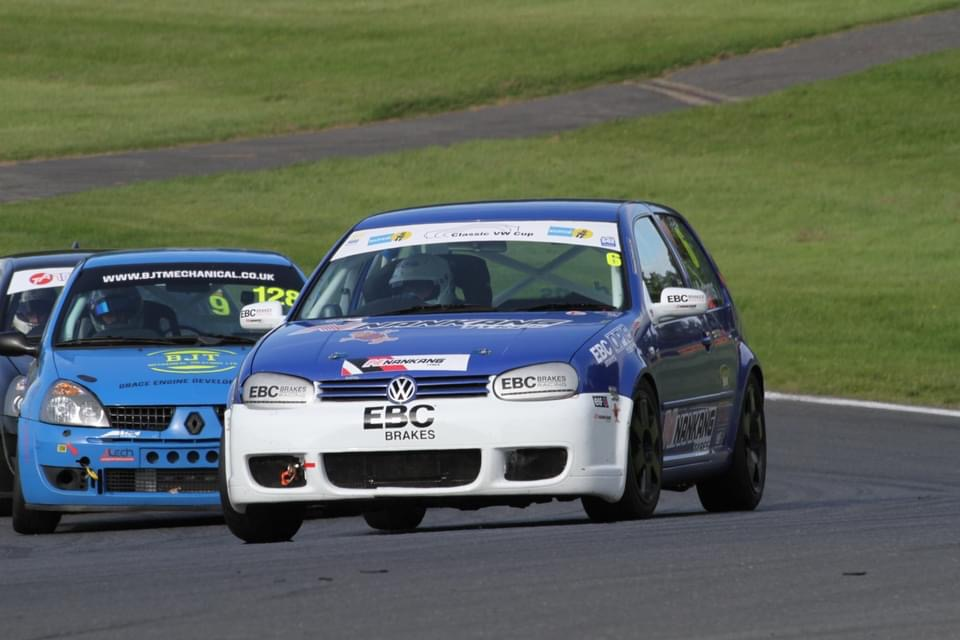Two Class Podium Finishes for EBC-Equipped Racers in Classic VW Cup
