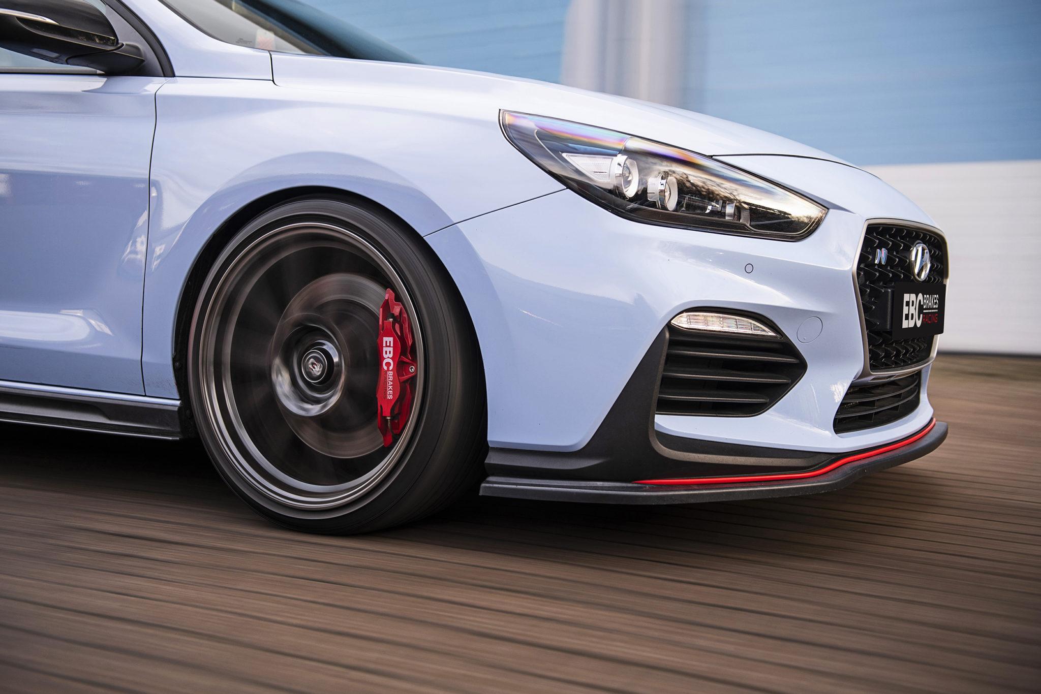 EBC Brakes Racing Apollo Balanced Big Brake Kits Now Available for the Hyundai i30N