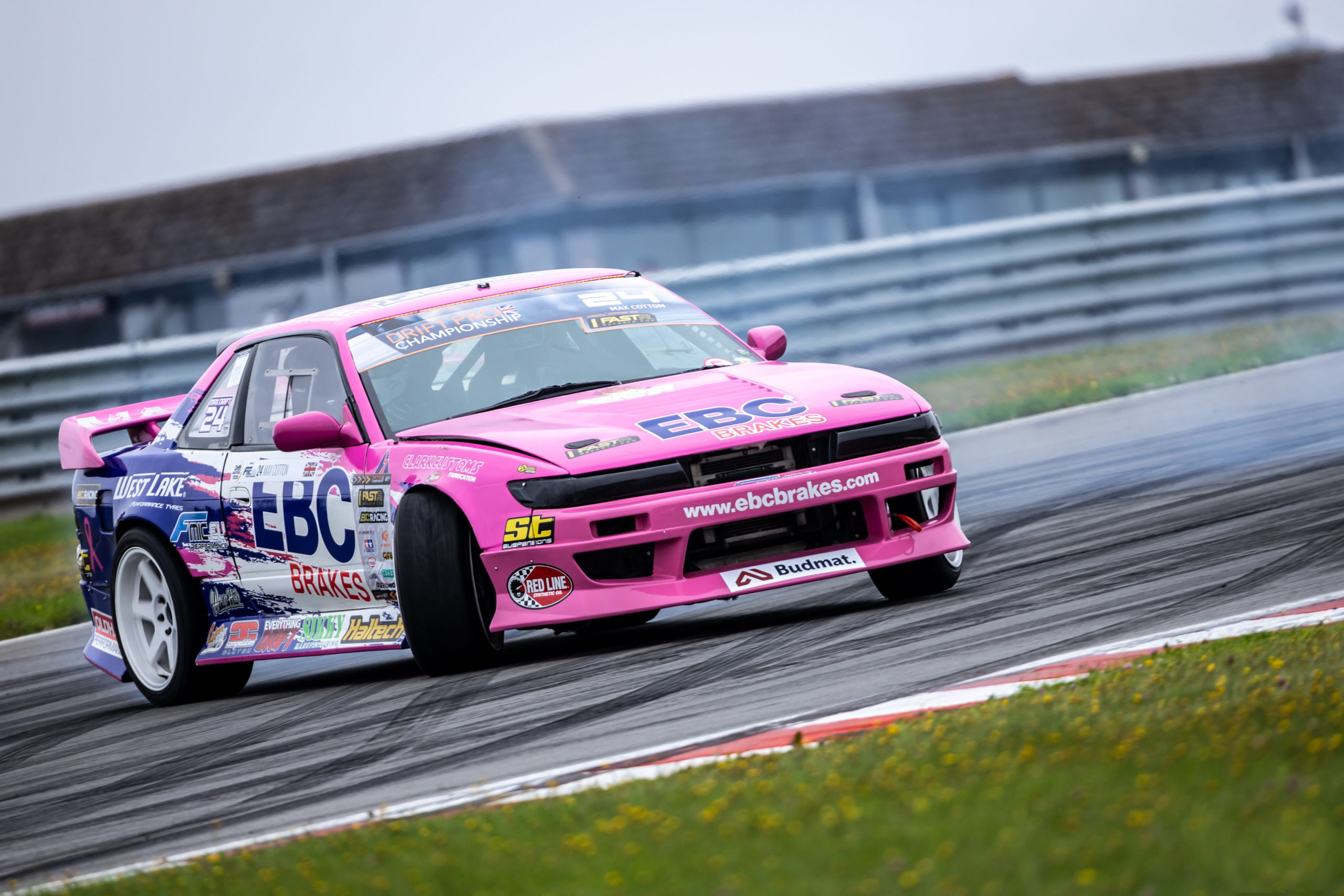 Podium Finish for Max Cotton in Second Drift Pro Round