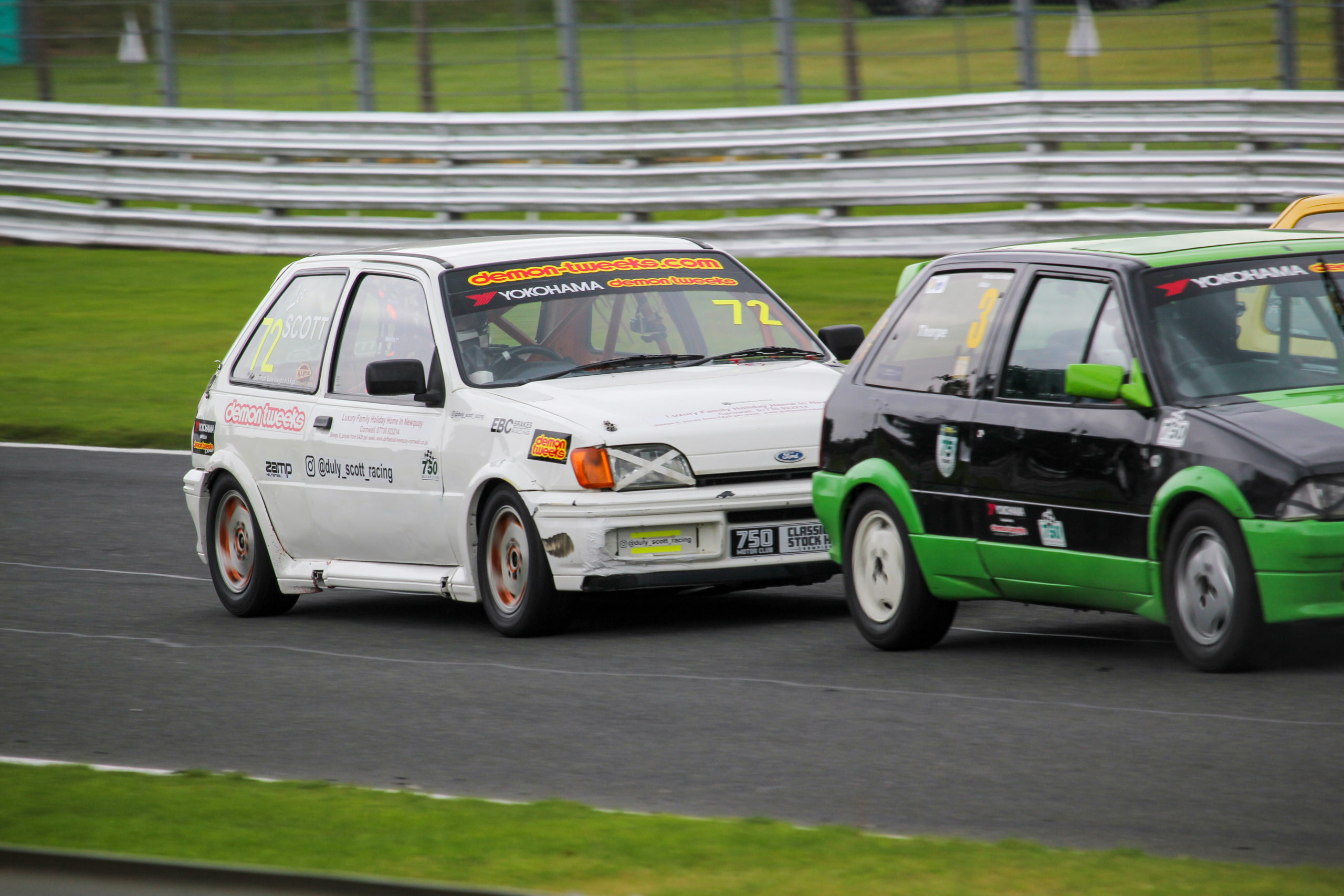 Race Win for Bluestuff-Equipped Fiesta in Classic Stock Hatch Championship