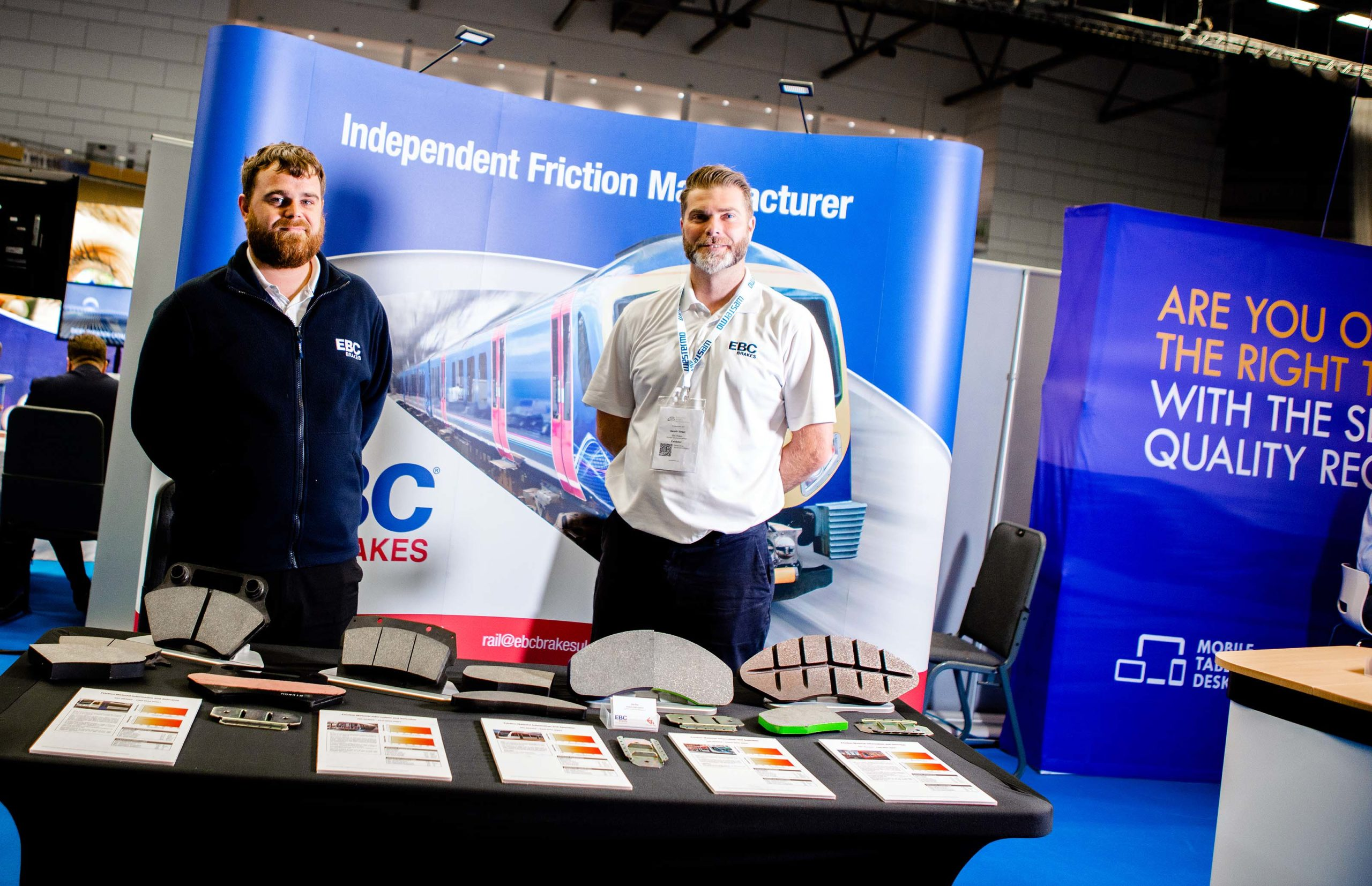 EBC Brakes Attends Rolling Stock Networking Event